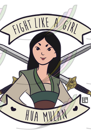 Caneca Fight Like a Girl® - Mulan
