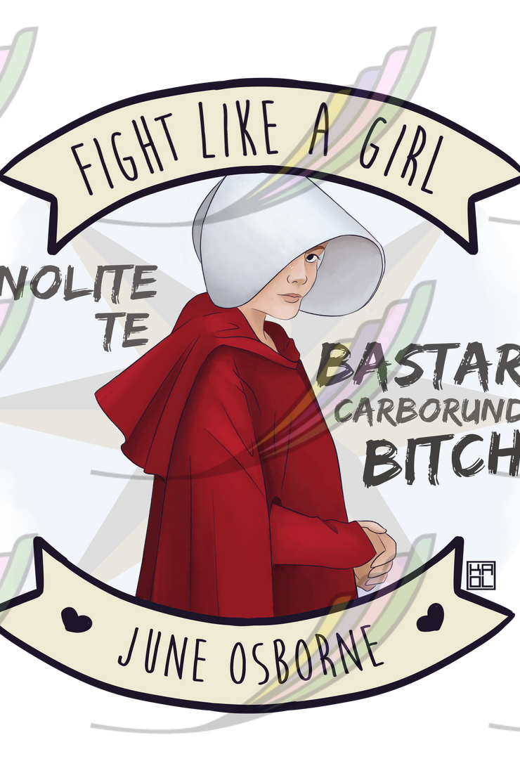 Caneca Fight Like a Girl® - June Osborne