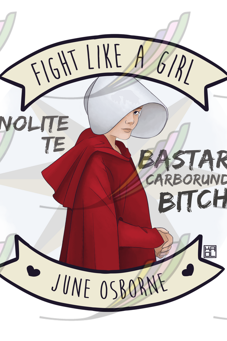 Ecobag Fight Like a Girl® - June Osborne