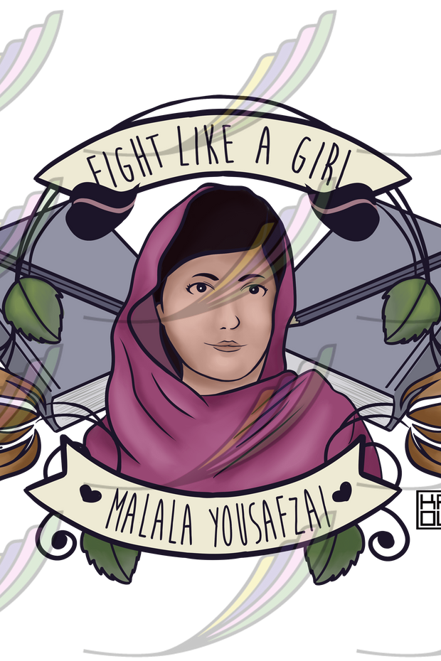 Caneca Fight Like a Girl® - Malala