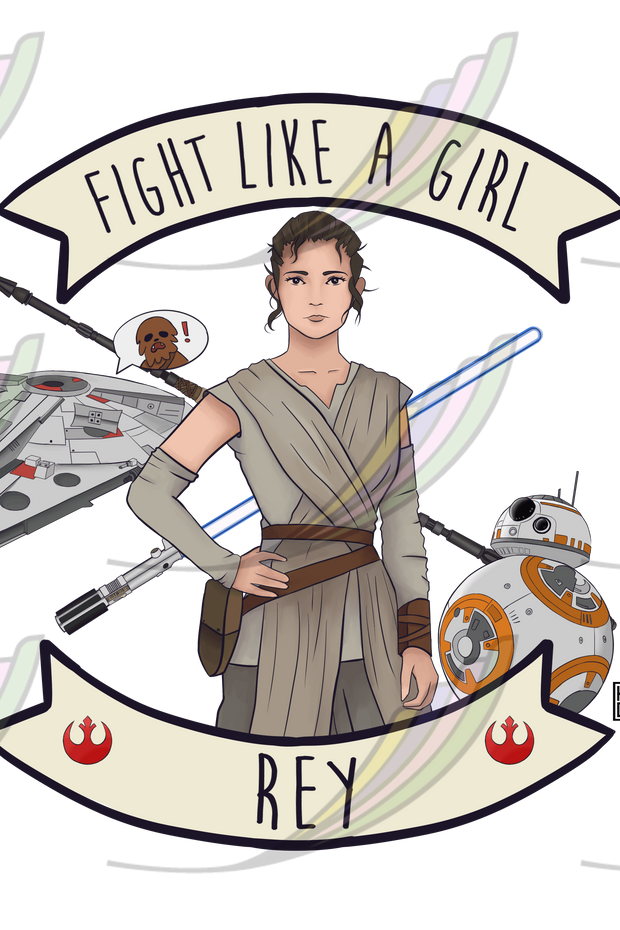 Caneca Fight Like a Girl® - Rey
