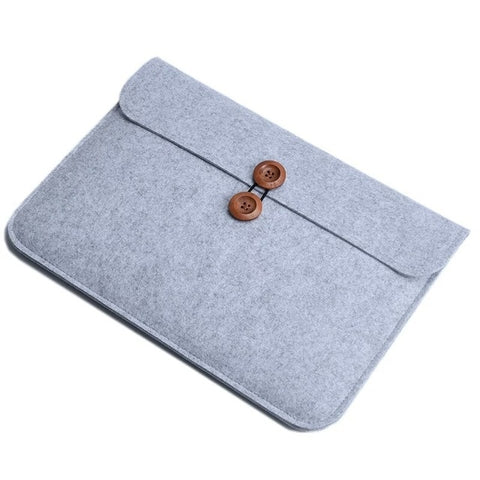 Slim Wool Felt 11 13 14 15.6 17.3 inch Sleeve Bag for Macbook Pro Retina Air For HP Dell Acer Lenovo Notebook Case Men Women