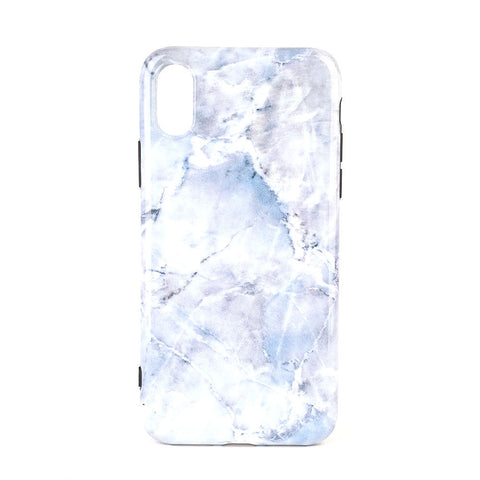 Glossy Skins Smartphone Mobile Phone Protector Phone Case Marble Soft Shell Anti-Fingerprint Dust-Proof Phone Shell