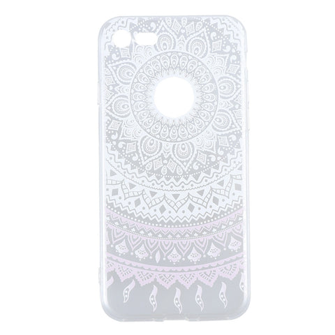 Painting Phone Case Protective Gorgeous Pattern Phone Case Cover for iPhone 7