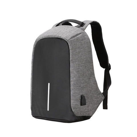 Men Backpack Casual Fashion Laptop Anti-theft Notebook School Bag with USB Port