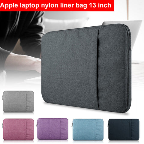 Laptop Bag Laptop Case Bag Portable Nylon 13inch Wear-Resistant Unisex Computer Bag Laptop Breathable