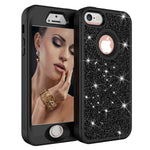 iPhone X case, Cute for Girls Glitter Bling Diamond Rhinestone Sparkly Protective Phone Case for iPhone X for Women Girl