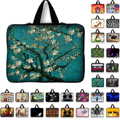 Van Gogh Portable Ultrabook Soft Sleeve Laptop Bag