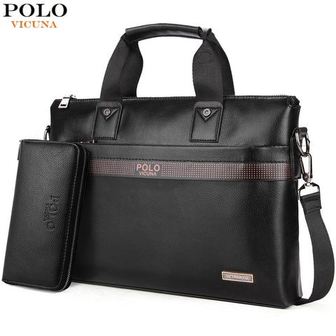 VICUNA POLO Top Sell Fashion Simple Dot Briefcase