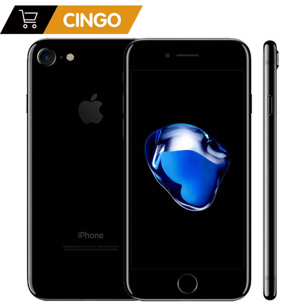 Unlocked Apple iPhone 7 4G LTE Cell Phone 32/128GB/256GB IOS 12.0MP Camera Quad-Core Fingerprint 12MP 1960mA