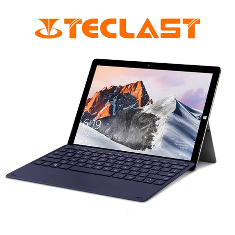 Teclast X6 Pro 2 in 1 Tablet Intel M3-7Y30 8GB RAM 256GB SSD 12.6 Inch 1920*2880 FHD IPS Windows 10 Touch Screen Tablet USB3.0