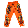 "DKS ""Blessed"" Orange Lounge Pants"