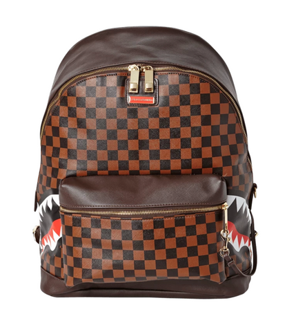 "Sprayground ""Side Sharks in Paris"" Backpack"