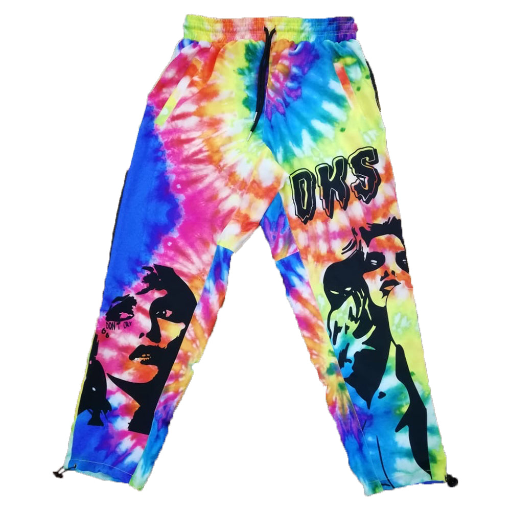 "DKS ""Wonderland"" Tie-Dye Lounge Pants"