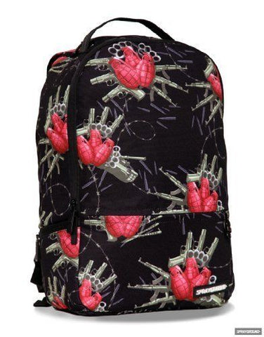 "Sprayground ""Flower Bomb"" Backpack"