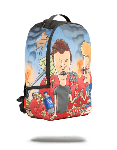 "Sprayground ""Beavis & Butthead Couch"" Backpack"