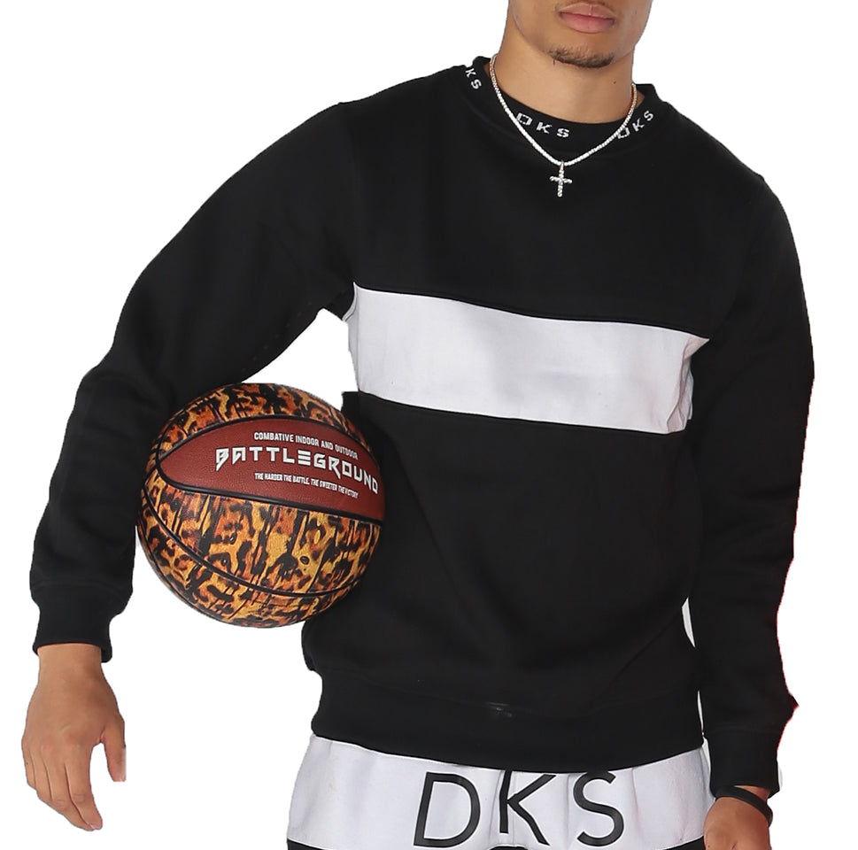 "DKS ""Stitched Neck"" Crewneck Sweatshirt"