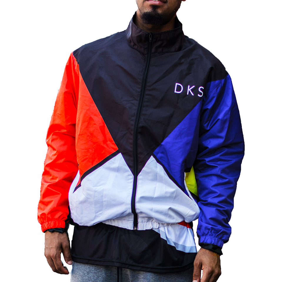 "DKS ""Retro"" Full-Zip Windbreaker Jacket"