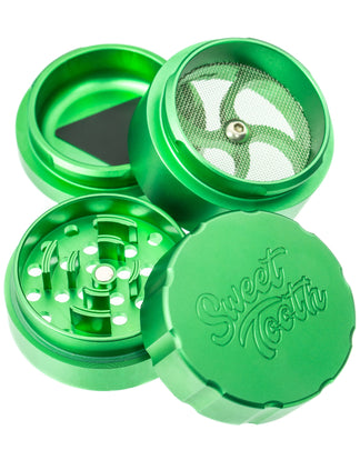 Sweet Tooth 4-Piece Medium Radial Teeth Aluminum Grinder