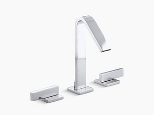 Loure Widespread bathroom sink faucet