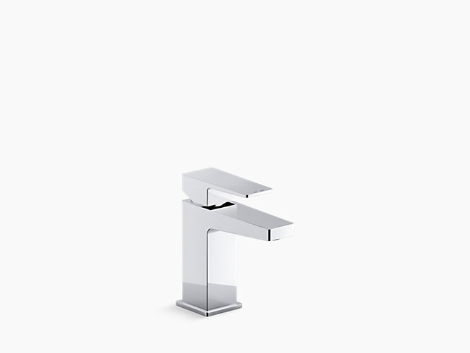 Honesty  single-handle bathroom sink faucet