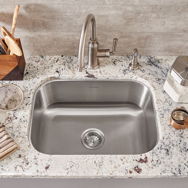 Portsmouth 23x18 Stainless Steel Kitchen Sink