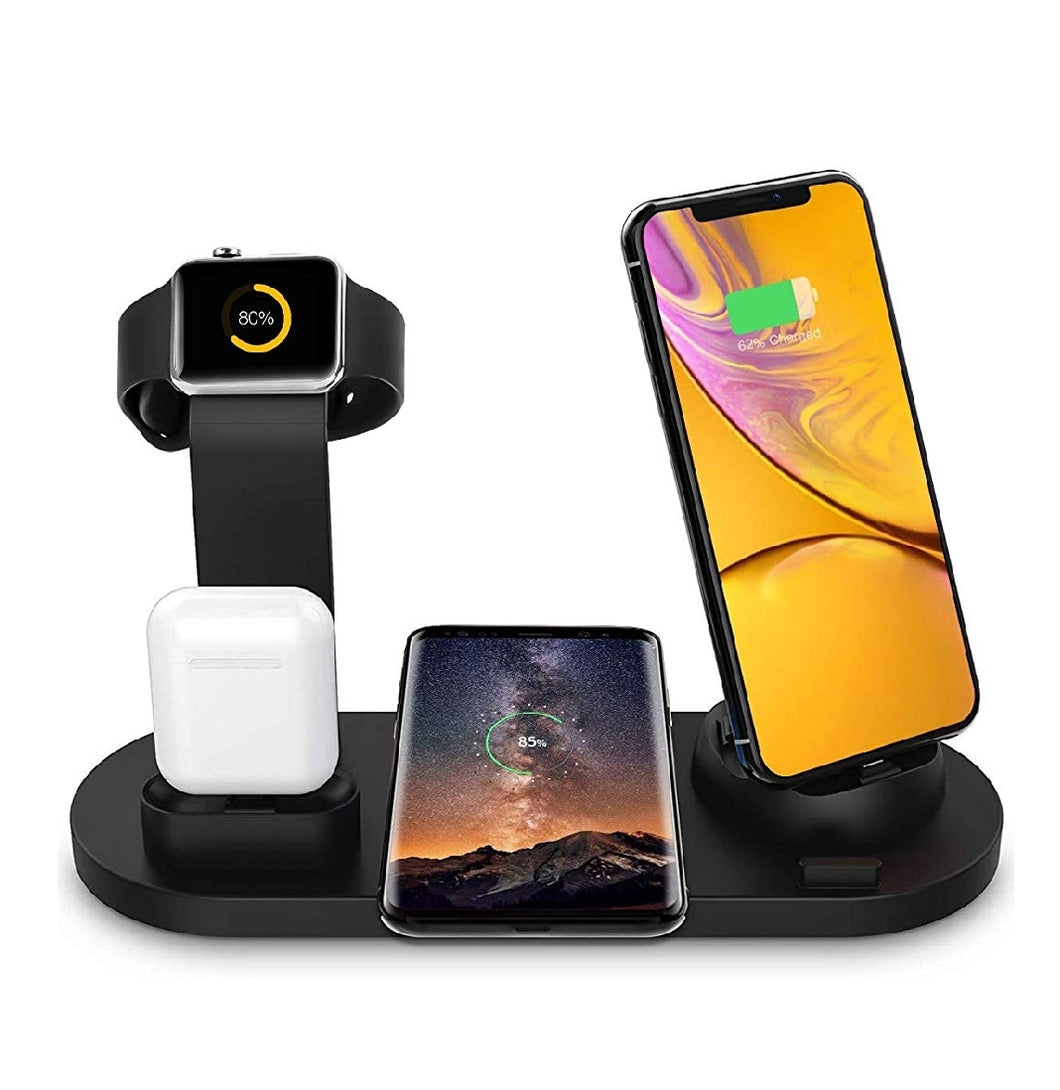 6 in 1 wireless charging stand