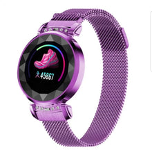 Load image into Gallery viewer, H2 women smart watch stainless steel.