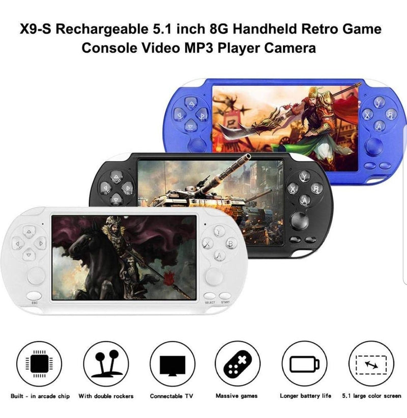 High quality X9S game console with 999 games
