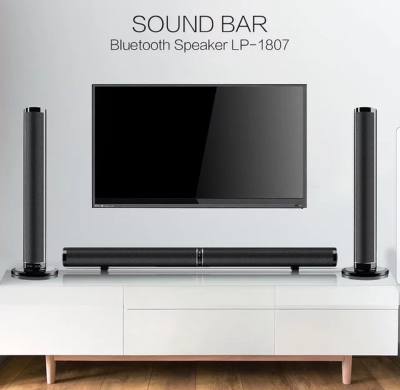 Hight quality LP 1807 bluetooth sound bar.