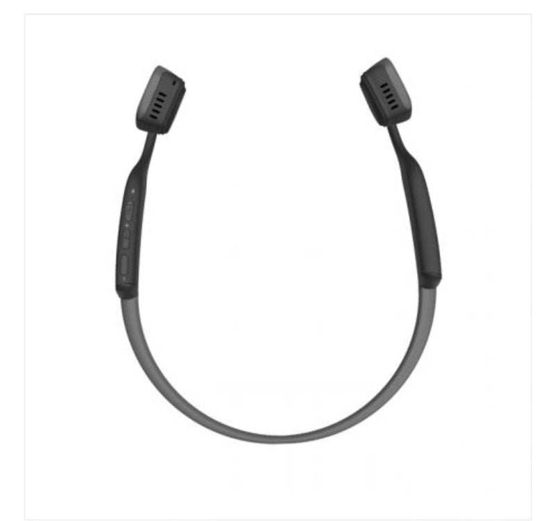 AfterShokz Titanium Bone Conduction Bluetooth Headphones - Slate Grey