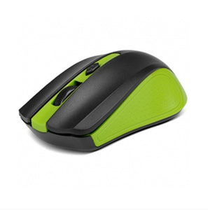 XTECH MOUSE WIRELESS GALOS 4 BUTTON NANO DONGLE GREEN