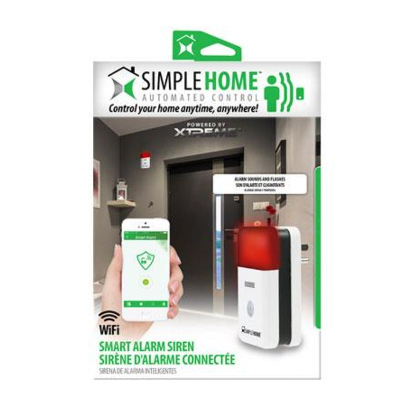 Simple Home Smart Alarm Siren