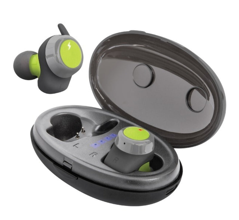 Helix ETHTWS Ultra Sport True Wireless Earbuds with Portable Charging Case