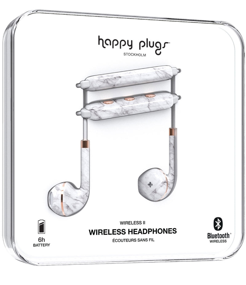 Happy Plugs Wireless II In-Ear Bluetooth Headphones