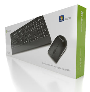 Klipxtreme wireless and mouse combo