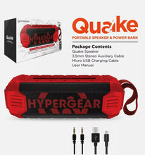 Load image into Gallery viewer, HyperGear Quake Ultra-Rugged Wireless Speaker