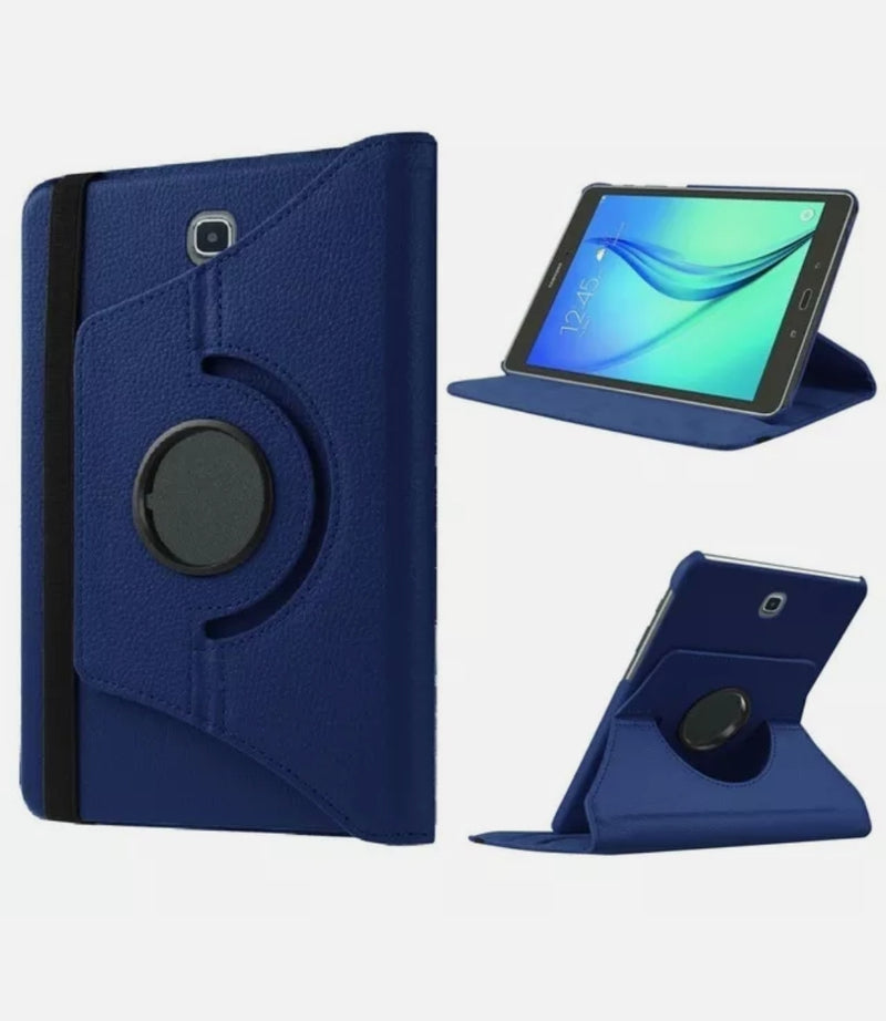 360 Rotating Leather Case Stand Cover for Samsung Tab A T550