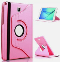 Load image into Gallery viewer, 360 Rotating Leather Case Stand Cover for Samsung Tablet T387
