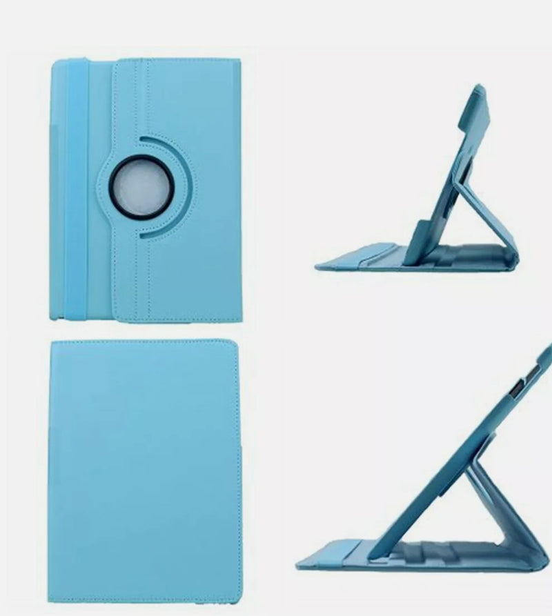 360 Rotating Leather Case Stand Cover for Samsung Tablet T387