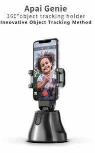 Apai Genie The Smart Personal Robot-Cameraman, 360 Object Tracking Holder Black.