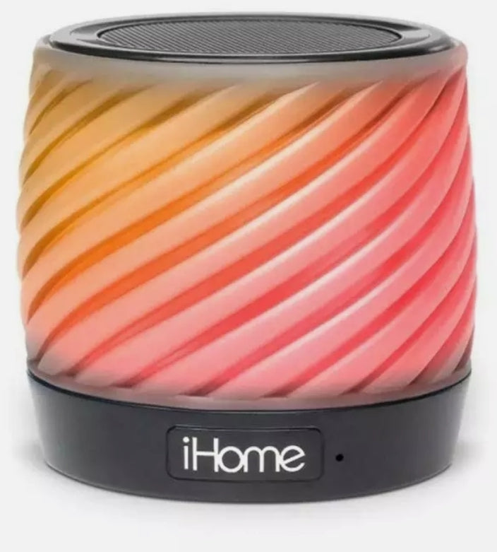 iHome  Color Changing Bluetooth Speaker with Speaker Phone