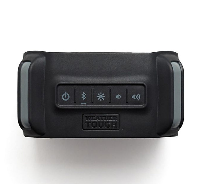 iHome™ Weather Tough™ Portable Rechargeable Bluetooth Speaker in Black