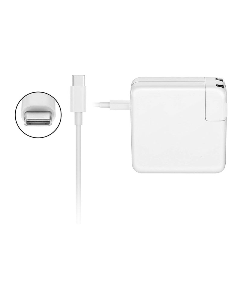 Gator 61W USB C Power Adapter, Fast Charger For Apple Macbook Air/Pro
