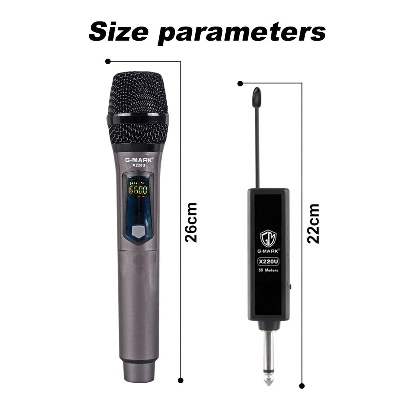 Wireless Microphone 2 pack