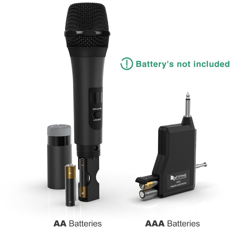 Wireless  Microphone & Receiver