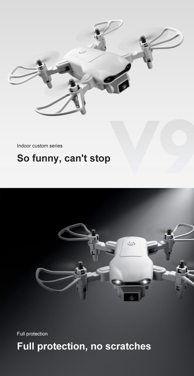 V9 Mini Drone 4k profession HD Wide Angle Camera 1080P