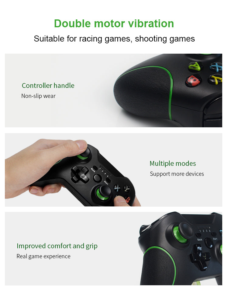 DATA FROG 2.4G Wireless Game Controller