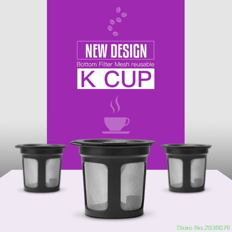 Refillable Coffee Filter Cup Reusable Coffee Pod Filled Capsule For Coffee Maker