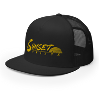Golden Logo Trucker Cap